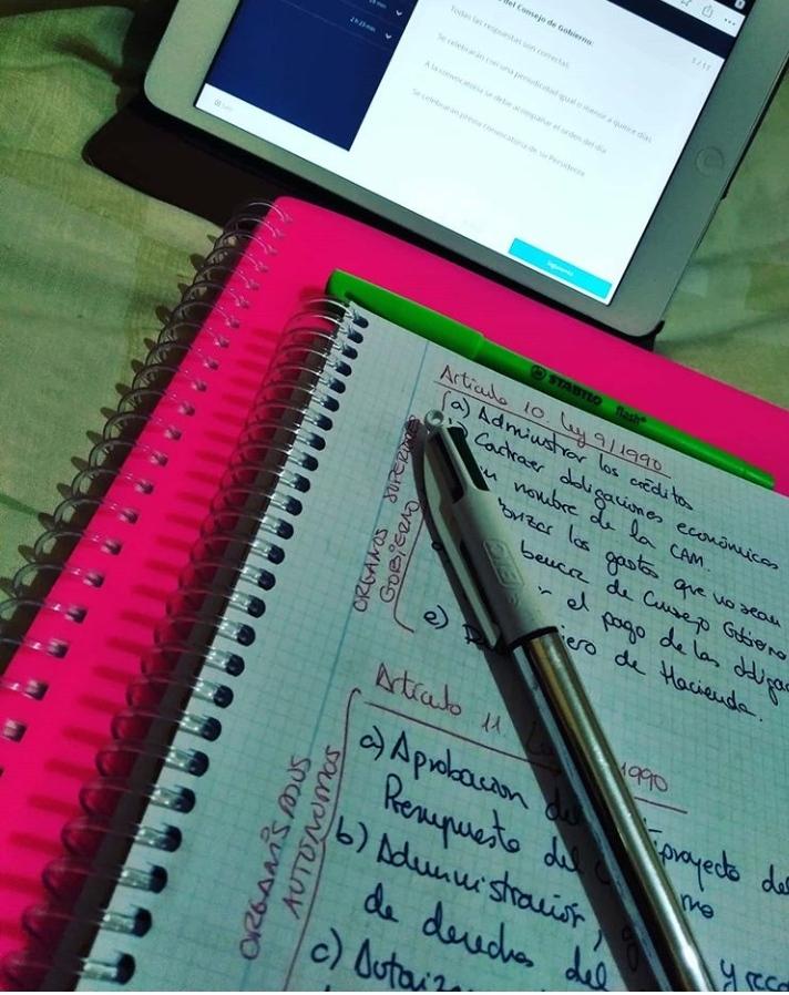 Organizarse para estudiar
