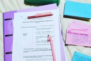 Cómo me anima la papelería a estudiar mi oposición