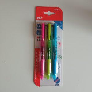 Bolígrafo 4 colores mp 3 ud