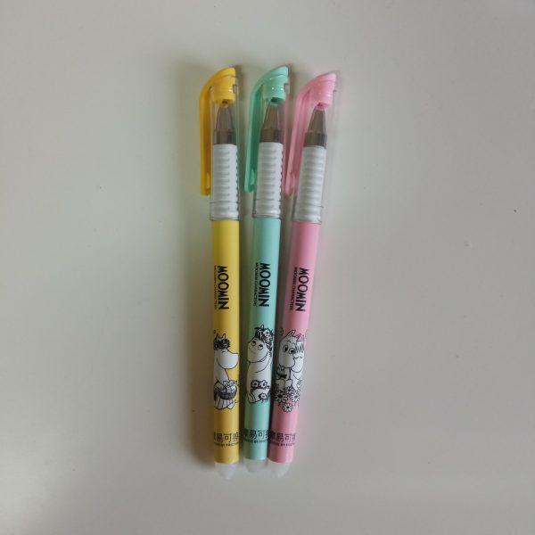 Bolígrafos moon colores