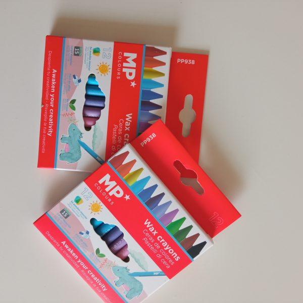 Ceras de colores pequeñas Mp pack 12 colores