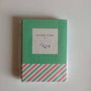 Mini libreta con post-it Avión