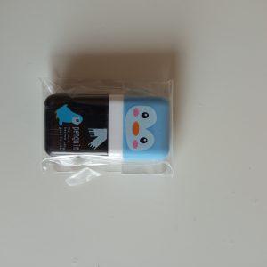Goma de borrar Kawaii Pingüino con rodillo