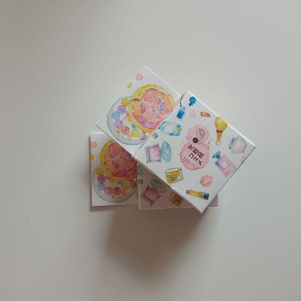 Washi tape diseño pack 2 unidades bonitos