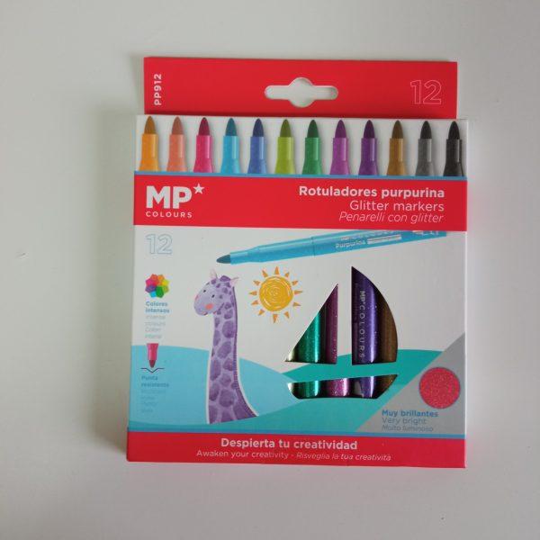 Rotuladores purpurina MP
