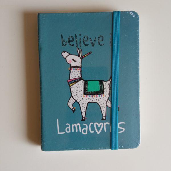 Libreta lamacorns a6