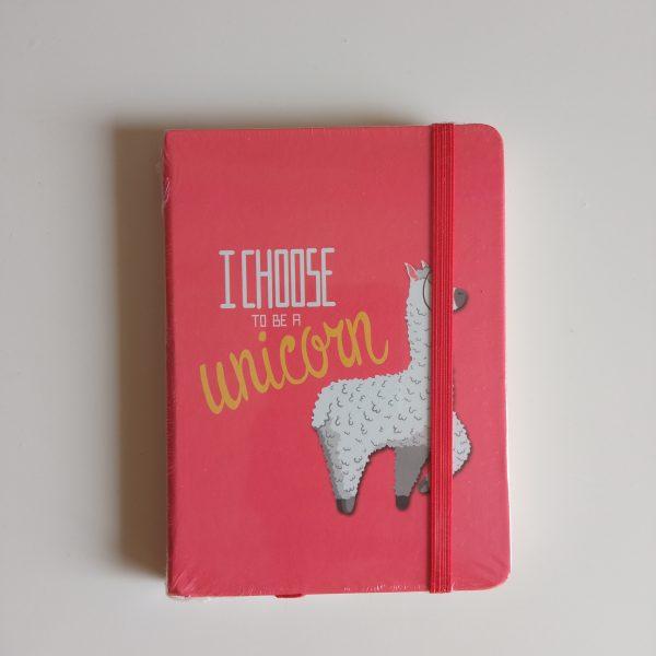 Libreta i choose a unicorn a6