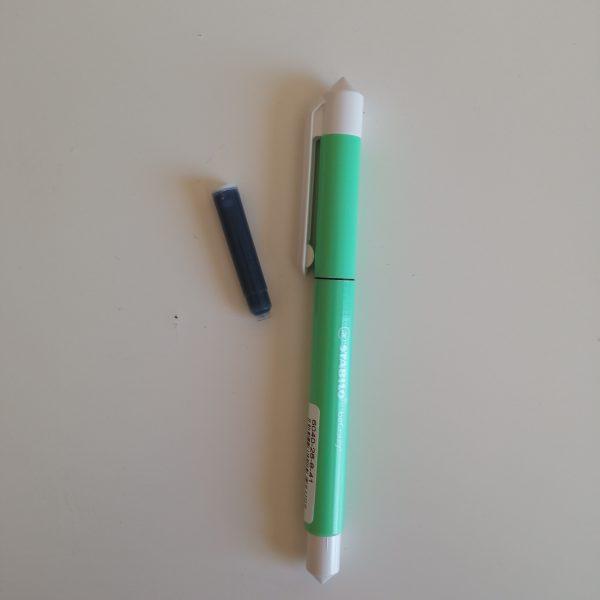BOLIGRAFO ROLLER STABILO BECRAZY PASTEL verde