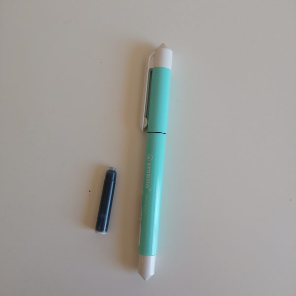 BOLIGRAFO ROLLER STABILO BECRAZY PASTEL azul