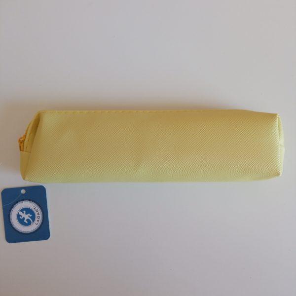 Estuche small amarillo pastel