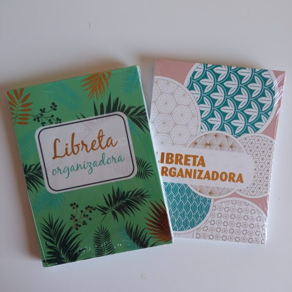Libreta organizadora pack 2